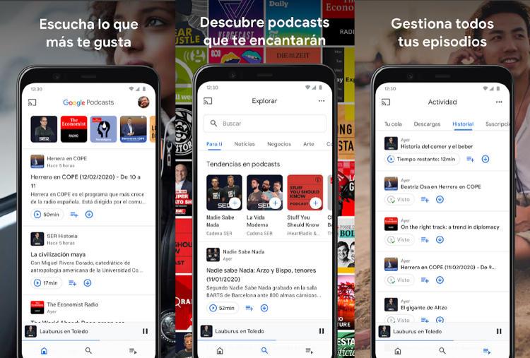 podcast en google