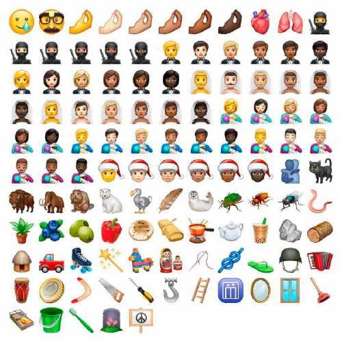 emojis whatsApp 2019