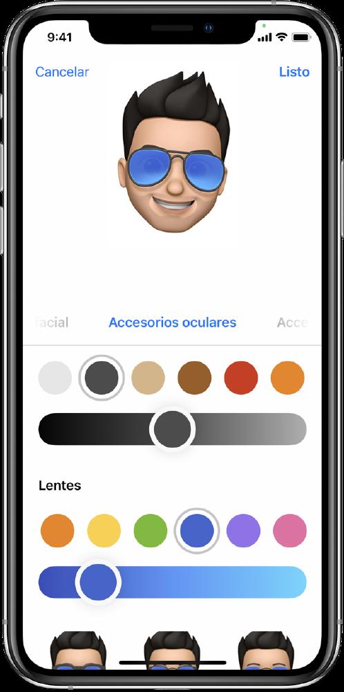 crear memoji en iPhone