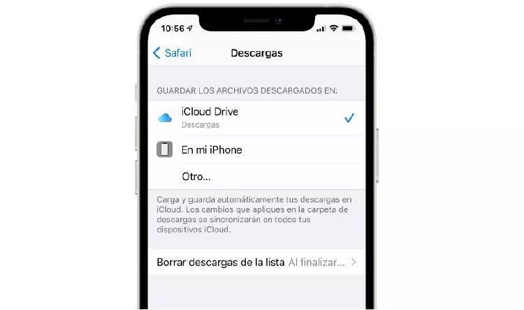 descargas safari iphone