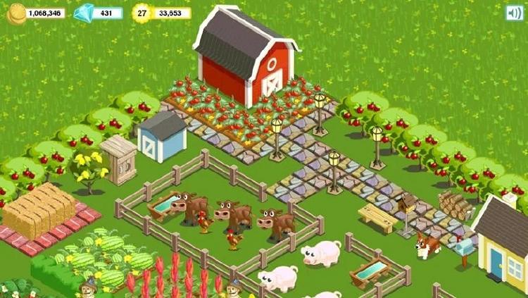 Juego de granja gratis y online
