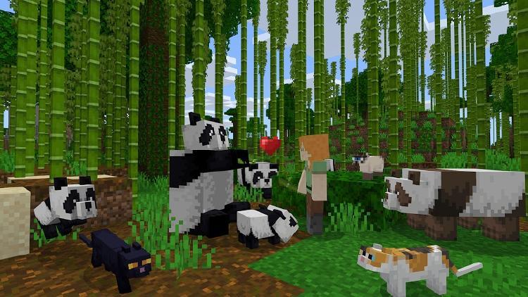 animales en minecraft
