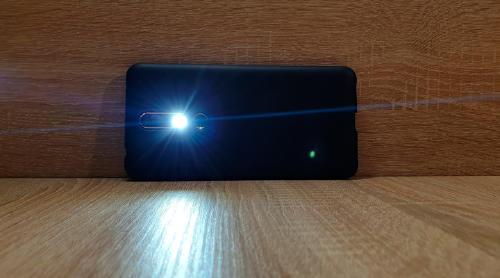 flash en vídeo móvil
