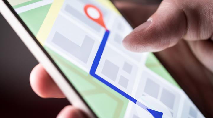Permiso de ubicación en apps de móvil