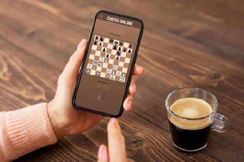 juego de ajedrez en un android
