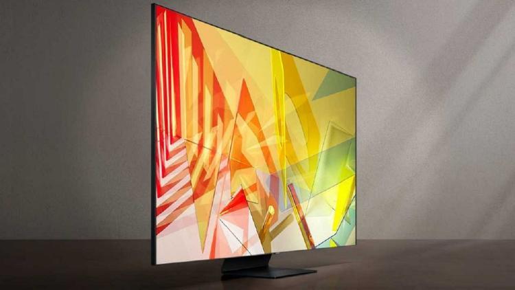 Televisor con tecnología QLED