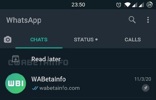 archivar WhatsApp