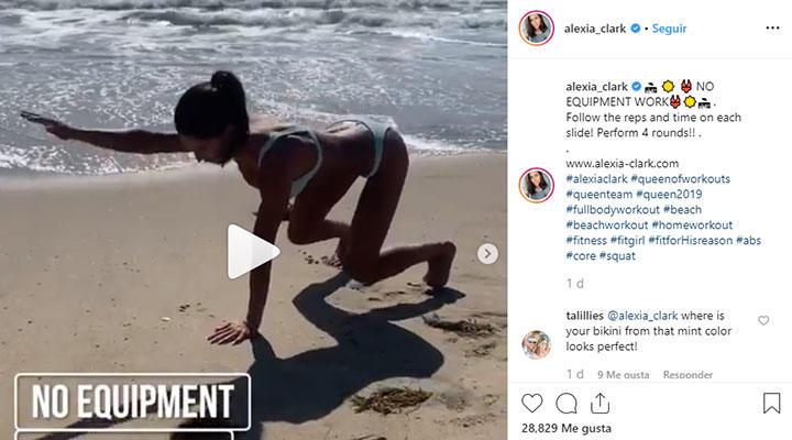 alexia clark post