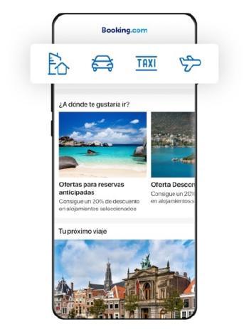 app de booking para android