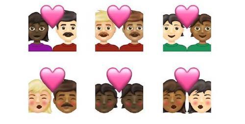 beso emoji WhatsApp