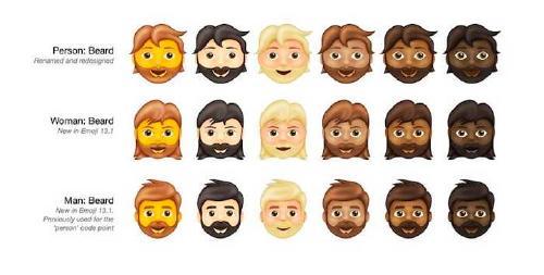 barba emoji whatsapp