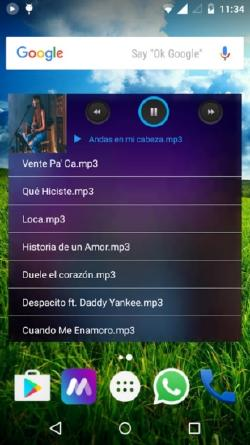 reproductor mp3 android