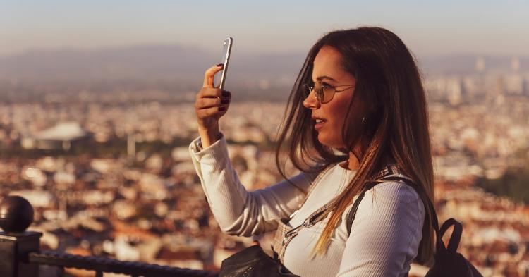 selfie con iphone