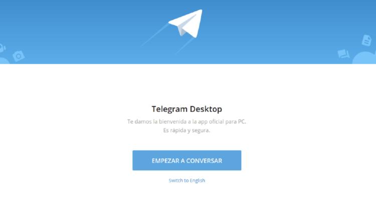 telegram app para pc