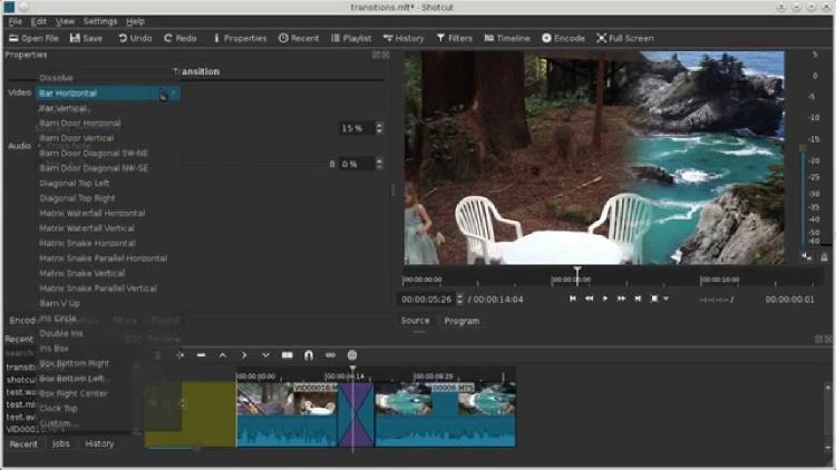 editor Shotcut para windows